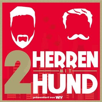 """Darauf haben sich unsere """"Zwei Herren mit Hund"""" seit Wochen gefreut: das AGF-Forum in Frankfurt einmal so richtig aufmischen!"""