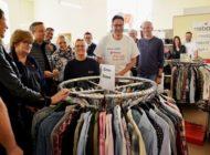 Ohne die Freiwilligen beim Social Day gäbe es keinen Ausflug für ältere Menschen