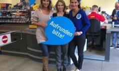 Frauenpower: Mariella Ahrens, Tina Ruland und Caroline Beil kassieren für den guten Zweck