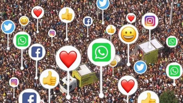 Mit Geld zuoberst auf Facebook landen