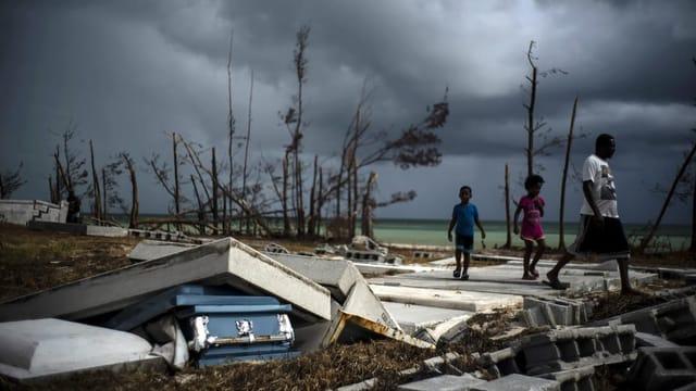 Neuer Tropensturm nimmt Kurs auf die Katastrophengebiete