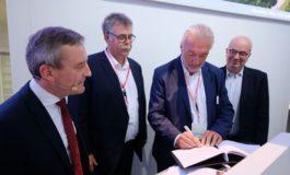 Schneider Electric ist offizieller Ankermieter des neuen EUREF-Campus Düsseldorf