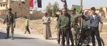 Syrische Truppen unterstützen Kurden in Manbidsch