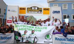 Fabian Kreim zum dritten Mal Deutscher Rallye-Meister, achter Titel für Rekordmeister SKODA