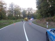 POL-PDPS: Schwerer Unfall mit Motorradfahrer