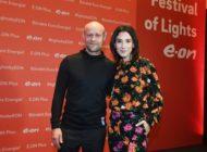 Festival of Lights: E.ON bringt Sibel Kekilli und Jürgen Vogel für exklusives Lichtkunst-Event zusammen