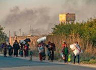 Neue Eskalation in Syrien: Bereits mehr als 160.000 Menschen auf der Flucht