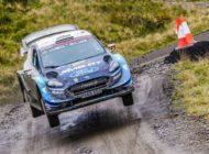Ford Fiesta WRC auf sieben von 22 Wertungsprüfungen das schnellste Auto der WM-Rallye Großbritannien