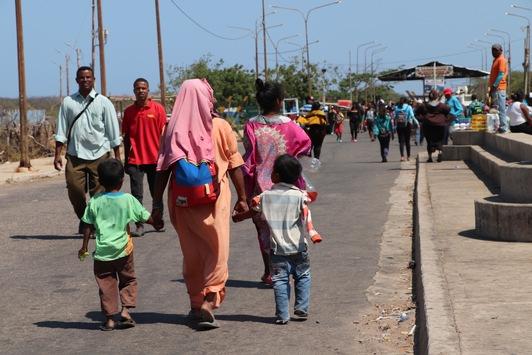 Kolumbien letzte Zuflucht für Venezuela-Flüchtlinge / Flüchtlings-Kinder extrem gefährdet