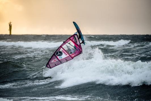 """Mercedes-Benz Windsurf World Cup Sylt 2019: Philip Köster verlässt Sylt als Weltranglisten-Erster / """"Welle machen für den Klimaschutz"""": Gelungene Premiere für den Green Seven Summit"""