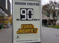 Trotz acht Millionären  Verlängerung beim 90-Millionen-Mega-Jackpot