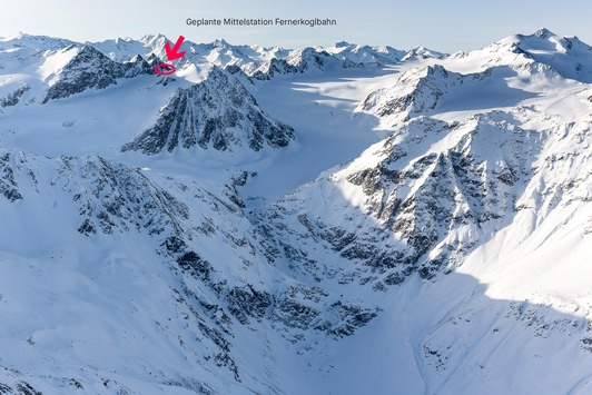 Gipfel des Linken Fernerkogels bleibt unberührt