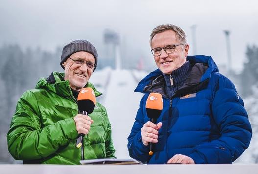 ZDF startet in die Wintersportsaison 2019/2020