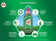 Procter & Gamble weitet Einsatz von Recyclingmaterial deutlich aus - Haushaltsreinigungsmarken Fairy, Antikal und Meister Proper erhöhen Einsatz von Alt-Plastik in Europa bis 2020 auf 6.500 Tonnen
