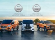 "Doppelte Ehre für Ford: ""Internationaler Transporter des Jahres"" und ""Internationaler Pick-up Award"" 2020"