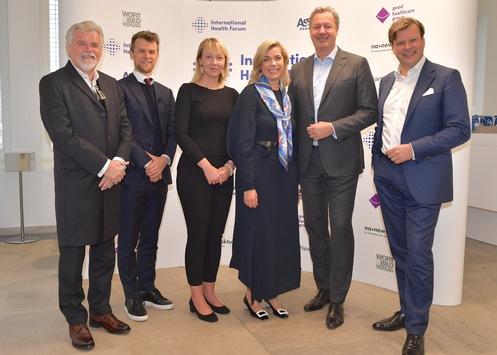 International Health Forum 2019: Künstliche Intelligenz – wo liegen die größten Chancen für den Healthcare-Markt? – Strategiekonferenz für 200 Top-Manager heute beim Wort & Bild Verlag in Baierbrunn