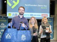 Startups präsentieren Ergebnisse: Nachhaltige Verpackungen und Produkte bald bei ALDI