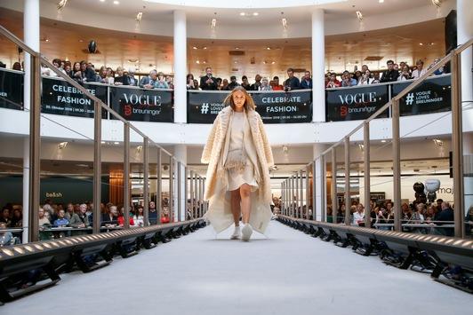 Das Fashion Event der Superlative / VOGUE loves Breuninger 2019