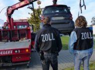 HZA-HH: Zoll stellt Firmenvermögen von Hamburger Logistikunternehmen sicher/ Zoll durchsucht Firmengelände