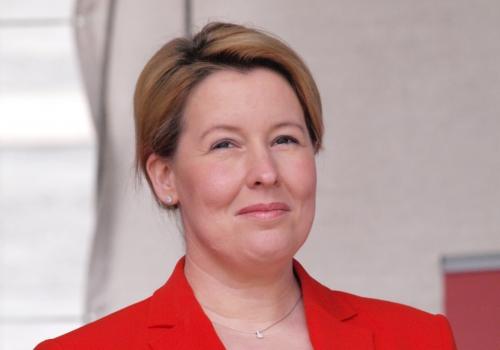 SPD-Vorsitz: Giffey plädiert für Kandidatenduo Scholz und Geywitz