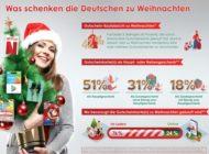 Was schenken die Deutschen zu Weihnachten?