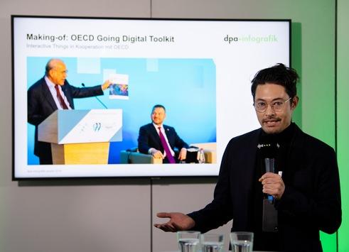 ZEIT ONLINE gewinnt dpa-infografik award in den Kategorien Nachrichten und Social Media - Interactive Things in Kooperation mit der OECD setzt sich bei Unternehmen und Institutionen durch