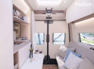 FRANKIA mit neuem Fahrzeugkonzept Microliner Yucon: die perfekte Mischung aus Campervan und Liner