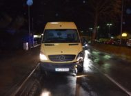 POL-HF: Verkehrsunfall - Straßenschild umgefahren und geflohen