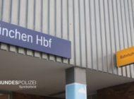 Bundespolizeidirektion München: 32-Jähriger greift Bundespolizisten an - zuvor Mitarbeiterin der Bahnhofsmission belästigt