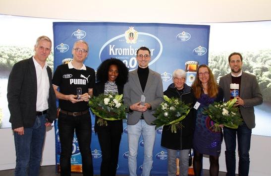 Tom Gröschel, Gesa Krause und Guido Sander sind die Läufer des Jahres