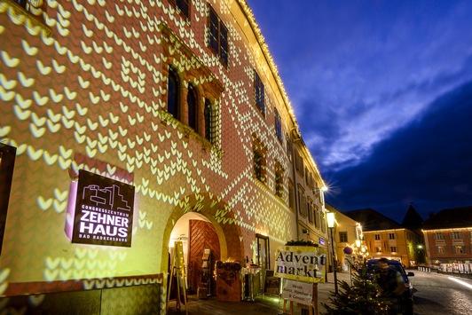 Erstmalig Lichterzauber in Kleiner historischer Stadt