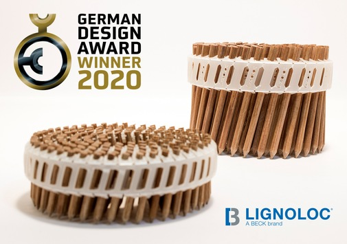 LIGNOLOC® gewinnt German Design Award 2020