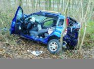 FW Stockach: Verkehrsunfall mit eingeklemmter Person