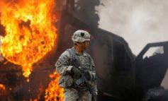 Blossgestellte Kriegsmacht USA