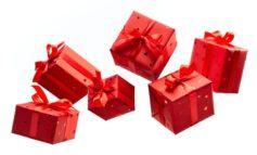 Weihnachtspapier-Trends 2019 - Rot und Gold bieten die größte Auswahl