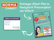 "NORMA Connect Allnet-Flat - Testsieger beim Teltarif-Check / Allnet-Flat des Discounters aus Nürnberg ist ""Deutschlands  Preisbrecher"""