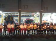 FW Bremerhaven: Feuerwehr Bremerhaven trauert um Augsburger Feuerwehrmann