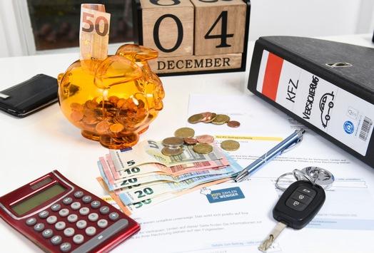 Wechsel der Kfz-Versicherung auch nach 30. November möglich