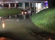 POL-PDWIL: Pkw-Fahrer folgt Navi und fährt ins Hochwasser