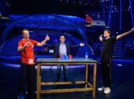 """Elfmeter-Killer schlägt Tatort-Kommissar: """"Schlag den Star"""" mit Ex-Torwart Jens Lehmann und Schauspieler Wotan Wilke Möhring holt gute 12,2 Prozent Marktanteil am Samstagabend"""