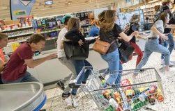 Schüsse im Supermarkt / Richtiges Verhalten bei extremen Gewalttaten / Schulungsfilm für Beschäftigte im Einzelhandel