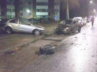 POL-Bremerhaven: Fünf Pkw nach Unfall stark beschädigt