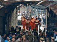 Brandkatastrophe in Fabrik fordert mindestens 43 Tote