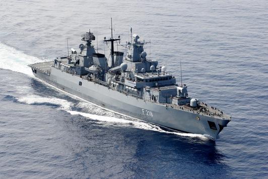 """Leinen Los! Fregatte """"Mecklenburg-Vorpommern"""" verlässt Wilhelmshaven in Richtung Ägäis"""