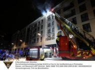 FW-M: Brand auf Baustelle (Bogenhausen)