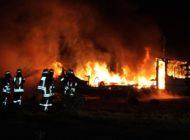POL-MI: Wohnwagen wird Raub der Flammen