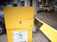 POL-HF: Unfall mit Flucht - Unbekannter fährt Schranke am Krankenhaus an