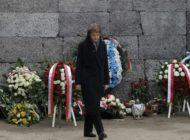 Simonetta Sommaruga besucht Auschwitz