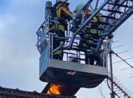 FW Stockach: Kaminbrand in Wahlwies