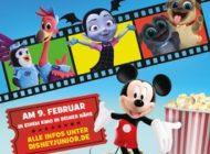 Kleine Helden auf der großen Leinwand! Das Disney Junior Mitmach-Kino - Am 9. Februar 2020 in Deutschland, Österreich und der Schweiz